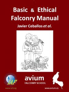 Basic & Ethical Falconry Manual