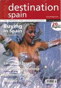 Artículo sobre Cetrería en revista de Iberia