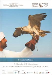 Conferencia sobre el Día Mundial de la Cetrería durante el Falconry Festival Abu Dhabi 2014