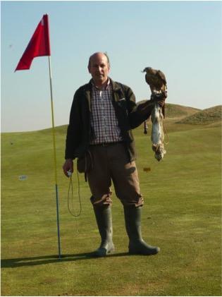 javier golf